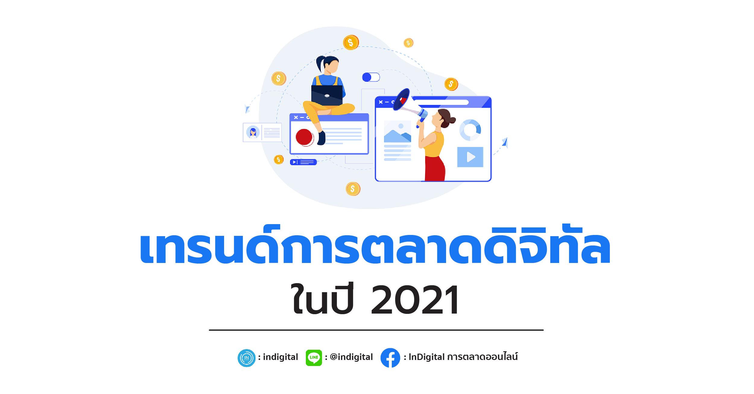 เทรนด์การตลาดดิจิทัลในปี 2021